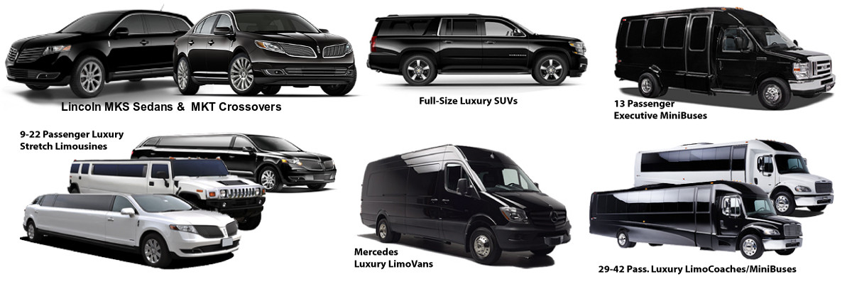Above All Transportation- Vehicle Types